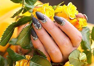 Моделирование ногтей акрил